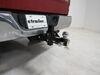 0  trailer hitch ball mount maxxtow three balls drop - 6 inch rise on a vehicle