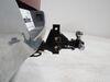 0  trailer hitch ball mount maxxtow adjustable class iv 10000 lbs gtw on a vehicle