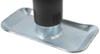 "Pro Series Round, Snap-Ring Swivel Jack - Weld On - Topwind - 10"" Lift - 2,000 lbs Swivel Jack - Pull Pin PS1401140303"