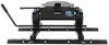 pro series fifth wheel hitch double pivot 13 - 17 inch tall 5th w/ square tube slider rails and install kit slide bar jaw 15 000 lbs