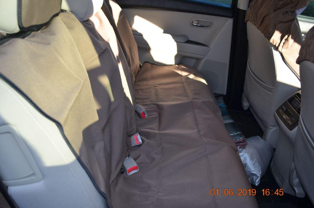 3 DOOR  PREMIUM FULL SET LEATHER LOOK SEAT COVERS HONDA CIVIC 01-06