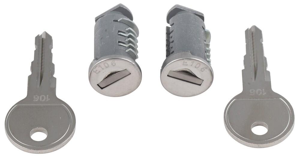 RockyMounts Single Lock Core with 2 Keys
