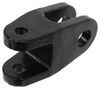 """Adapter for Jeep D-Ring Bumper Mounts to Roadmaster Motor Home Mount Tow Bars - 3/4"""" Thick Hitch Pin Attachment RM-035"""