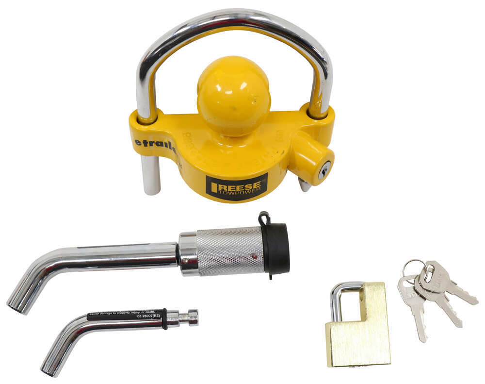 Reese Towpower 7014700 Tow /'N Store Lock Kit Free Shipping