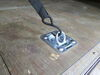 """Brophy D-Ring Tie Down Anchor w Backing Plate - Bolt-On - 1/2"""" Wide - Recessed - 1,600 lbs 1600 lbs RR5K"""