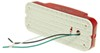 Incandescent RV Tail Light - Stop, Tail, Turn - Rectangle - Red Lens - Passenger's Side Red RVST60