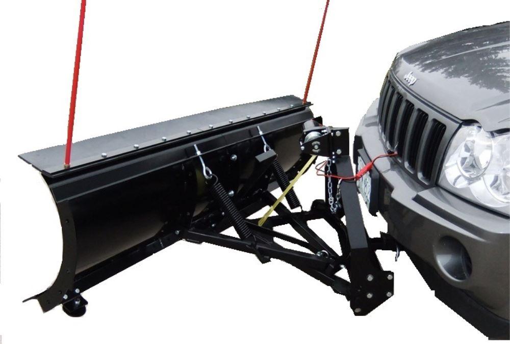 "ATV BEAR SNOW PLOW RUBBER PLOW SNOWPLOW 88/""  ATV UNIVERSAL SNOW DEFLECTOR"