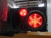 Optronics LED Trailer Tail Light - Stop, Tail, Turn - Submersible - 10 Diodes - Round - Red Lens LED Light STL43RB