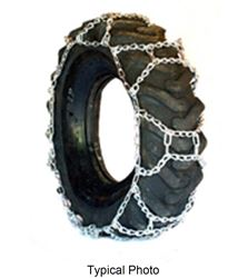 Titan Alloy Square Link Tractor Tire Chains Ice Snow Mud 10mm 12.4-16