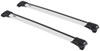thule roof rack complete systems aero bars aeroblade edge for raised factory side rails - aluminum silver