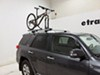 Kuat Trio Roof Bike Rack - Fork Mount - Clamp On - Aluminum - Gunmetal Gray Disc Brake Compatible RU01