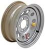 "Taskmaster Steel Modular Trailer Wheel - 14"" x 6"" Rim - 5 on 4-1/2 - Silver Steel Wheels - Powder Coat TTW460545SM1"