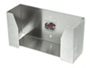 tow-rax trailer cargo organizers  disposable-glove dispenser tray - aluminum 10 inch x 5 3-1/3