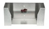 tow-rax trailer cargo organizers hooks and hangers tool rack disposable-glove dispenser tray - aluminum 10 inch x 5 3-1/3