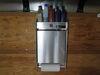 "Tow-Rax Aluminum Storage Cabinet w/ Folding Tray - 22"" Tall x 12"" Wide - Machined Finish 5-3/16T x 3W Inch TWSPJCA"