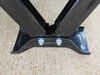 0  camper jacks ultra-fab products leveling jack stabilizer bolt-on weld-on on a vehicle