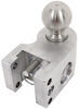 weigh safe trailer hitch ball mount two balls drop - 4 inch rise 5 ws4-2