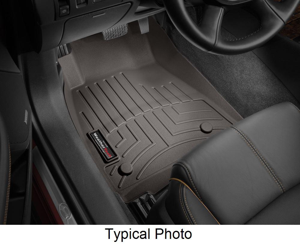 WeatherTech Front Auto Floor Mats - Cocoa Contoured WT477921