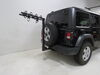 "Yakima RoadTrip RV Bike Rack - 4 Bikes - 2"" Hitches - Black Hanging Rack Y02477 on 2020 Jeep Wrangler Unlimited"