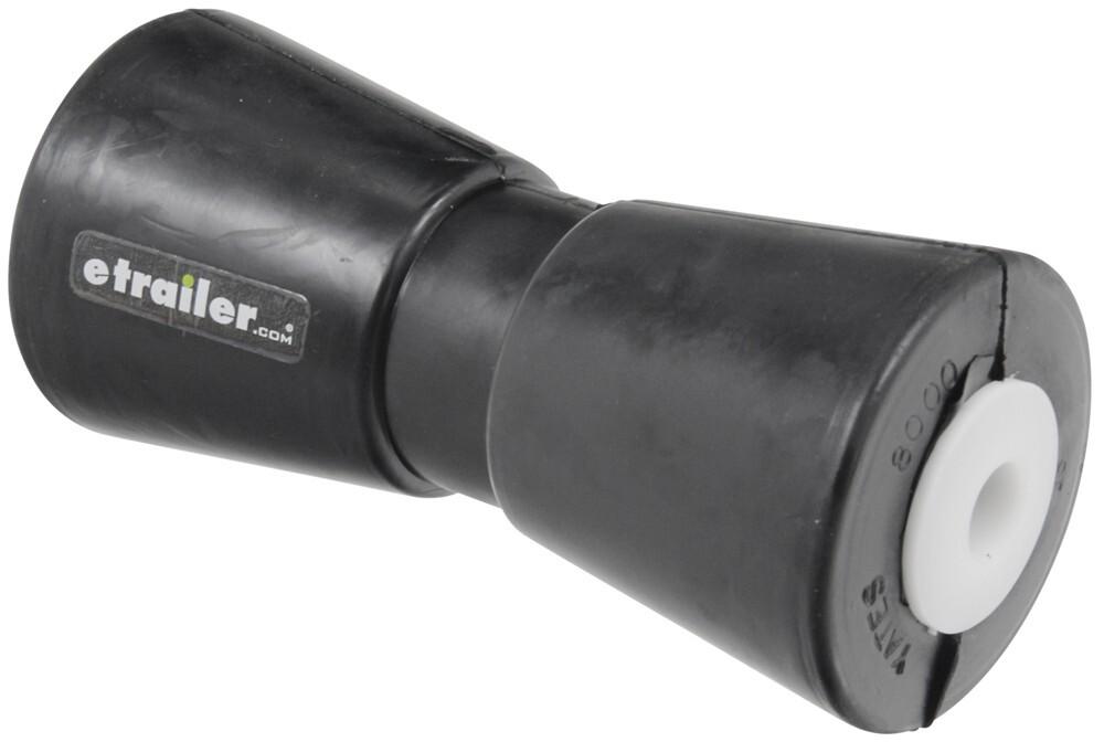 """Boat Marine Trailer Black Rubber Deep V Keel Roller 8/"""" with 5//8/"""" Shaft Diameter"""